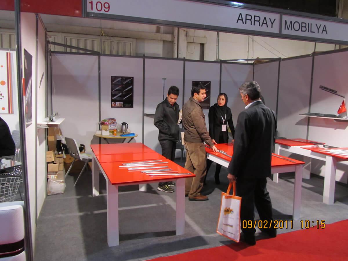 We participated in IRAN Exhibition 2011.
