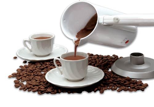 Kavanoz ve 2 Fincan Kahve